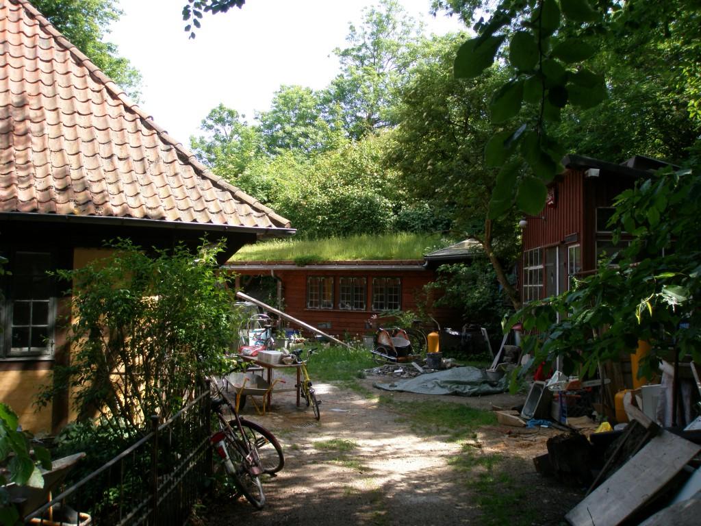 Christianiabebyggelse, idylliskt på sommaren