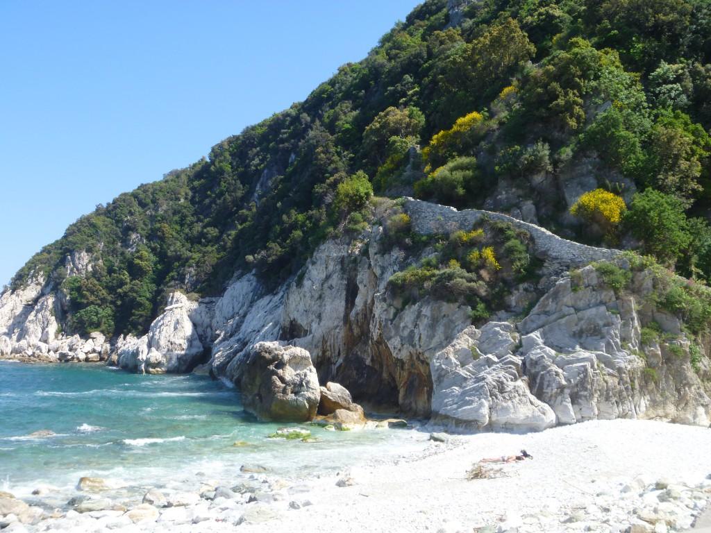 En vandringsled söder om Agio Ioannis