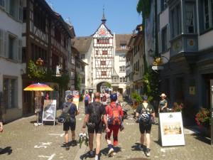Stein am Rhein, en höjdare