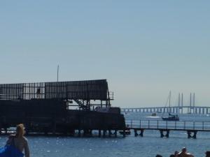 Badanläggning vid Amagerstrand och Bron