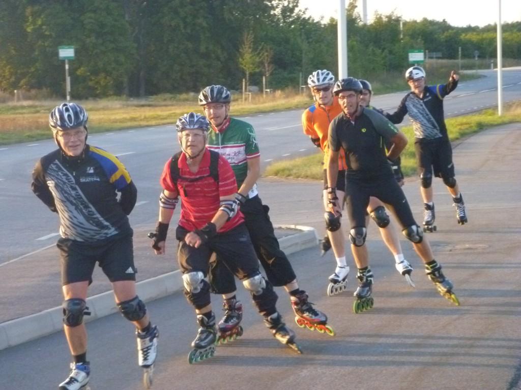 Mot Glostorp utanför Malmö,  SIK och Malmö City Skaters
