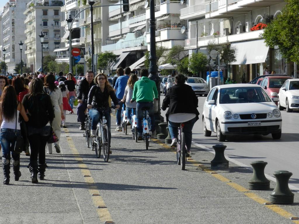 Thessaloniki, kustpromenaden