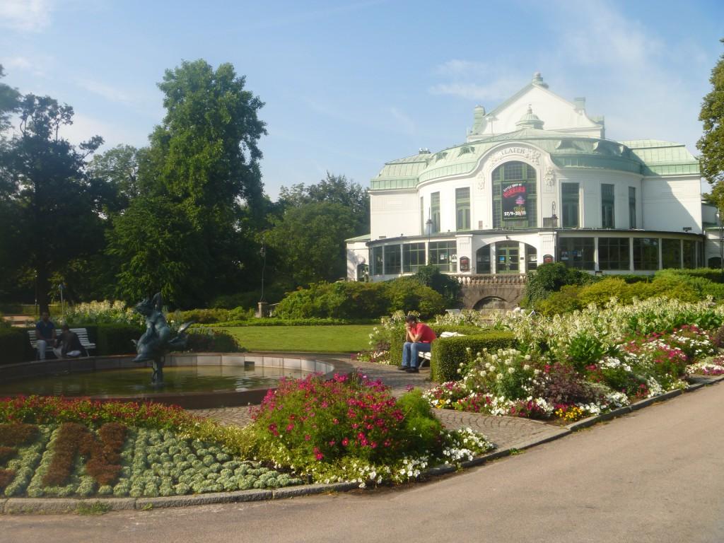 Tivoliparken i Kristianstad