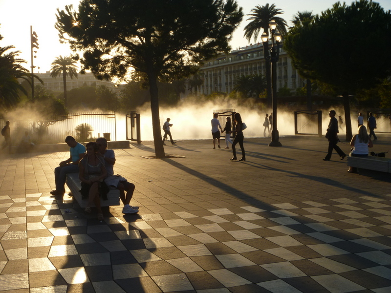 Mer vattenkonst i Nice