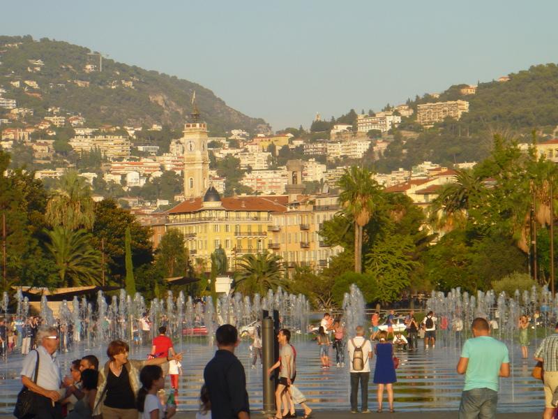 Vattenkonst i Nice