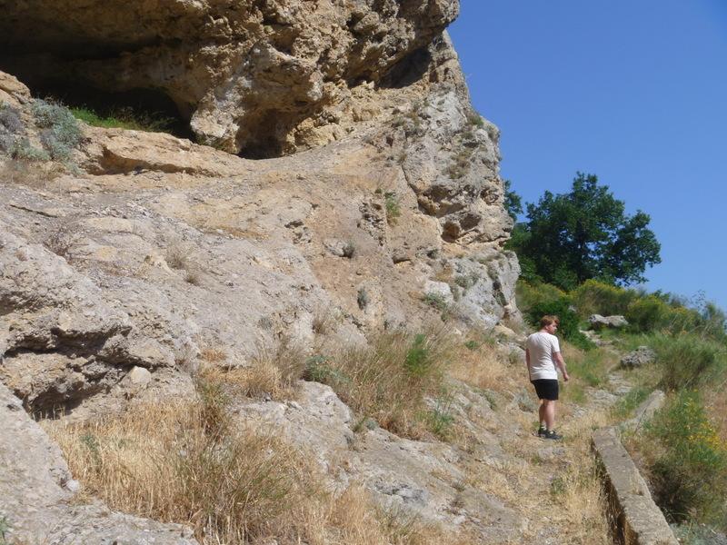 På väg ner mot Amalfi stad