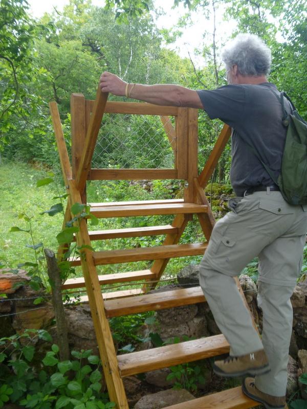 Så ska en trappa se ut till en vandringsled!