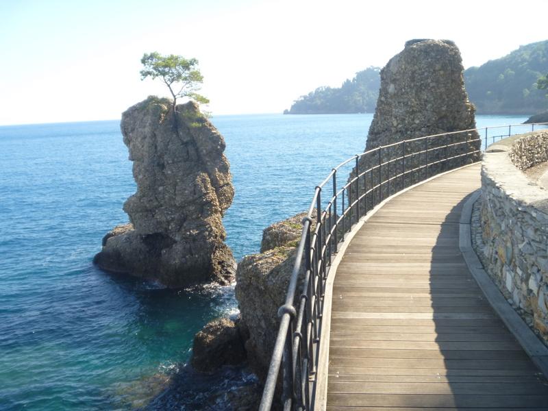 Den fina leden ut till Portofino