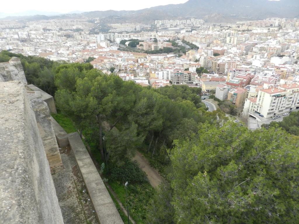 Borgen i Malaga är väl värt ett besök och ger pulshöjare