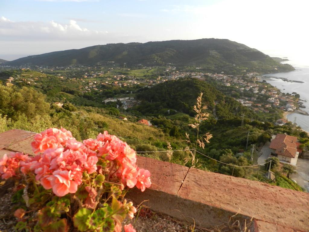 Vy från Castellabate
