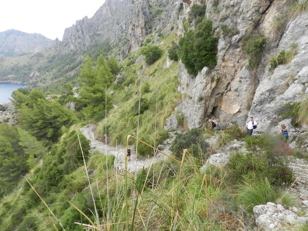 En hisnande vacker etapp längs bergen