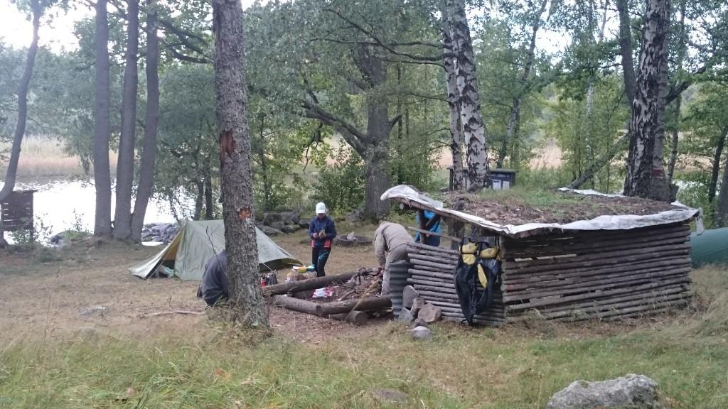 Bra vindsskydd vid Åsnen