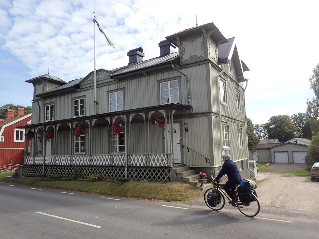 Vackert hus vid Torne