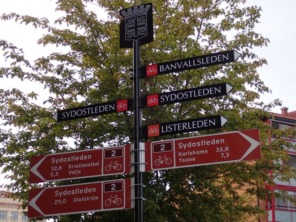 Slutligen i Sölvesborg där flera val finns