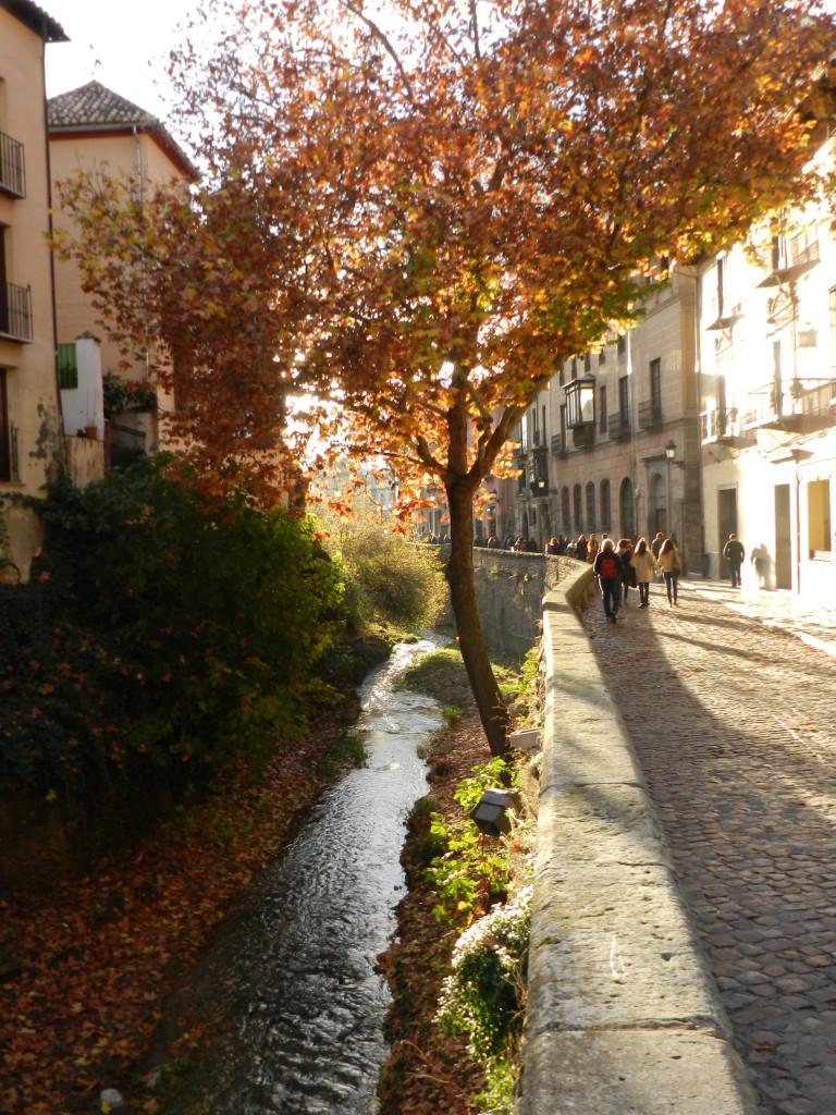 """Granada vid """"floden"""""""